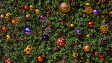 обоя разное, компьютерный дизайн, ёлочные, игрушки, новый, год, хвоя, обработка, ёлка, рождество, украшения, новогоднее, настроение, фон, ель, праздник, ёлочка, шарики