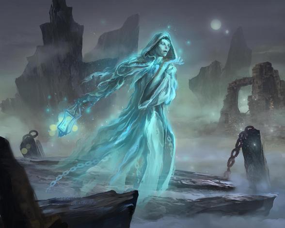 Обои картинки фото фэнтези, призраки, фон, призрак