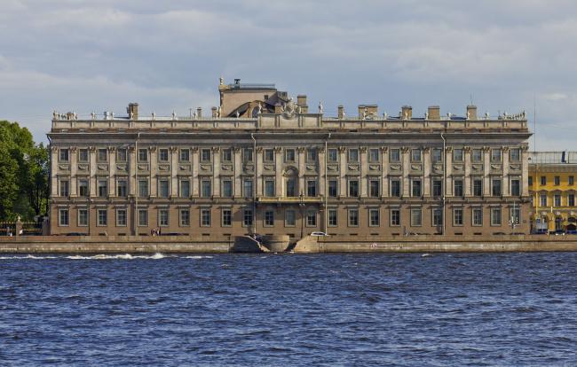 Обои картинки фото мраморный дворец, города, санкт-петербург,  петергоф , россия, санкт-, петербург, мраморный, дворец