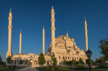 Картинка города стамбул+ турция минареты мечеть