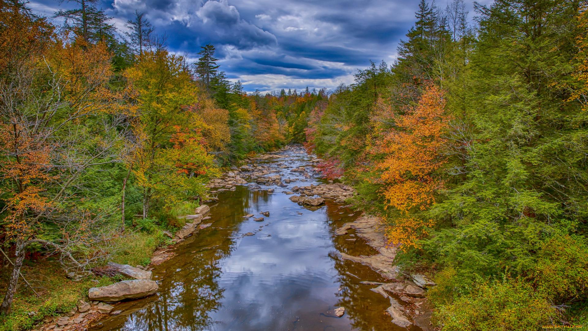 река осень без смс