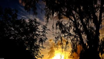 Картинка природа восходы закаты вечер