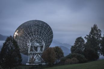 Картинка космос разное другое фон поле антенны