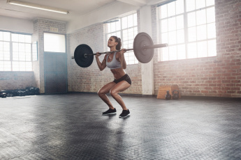 обоя спорт, - другое, атлетика, штанга, фитнес, девушка