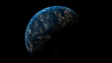 Картинка космос земля планеты вселенная звезды
