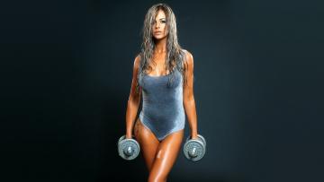 обоя спорт, - другое, фитнес, девушка