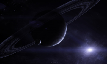 обоя космос, арт, планеты, вселенная, звезды