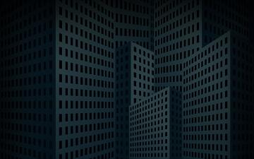 обоя векторная графика, город , city, дома