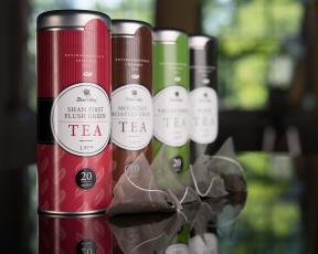 Картинка shan+valley+tea бренды -+shan+valley чай коробка сорт этикетка
