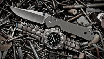 обоя бренды, - другое, складной, нож, дорогие, часы, и, винты
