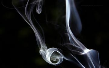 обоя разное, - другое, дым, клубы, завитки