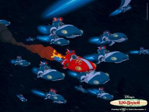 Картинка мультфильмы lilo stitch