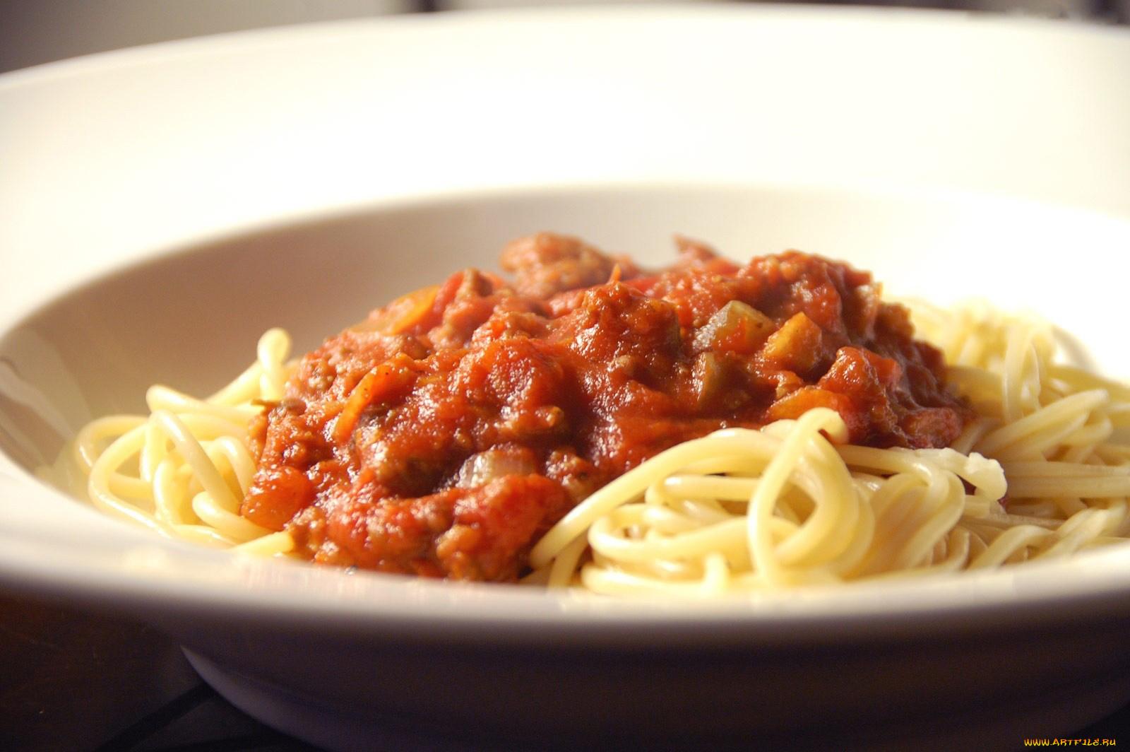 Открытки макароны с мясом