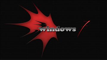 обоя компьютеры, windows 7 , vienna, логотип, фон