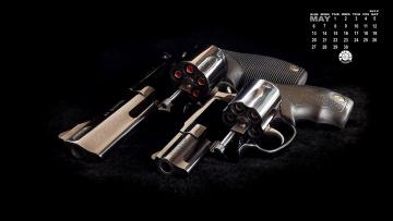 Картинка календари оружие револьверы