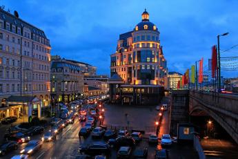 Картинка города москва россия вечернее замоскворечье