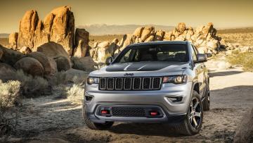 Картинка jeep+grand+cherokee+concept+2016 автомобили jeep grand cherokee concept 2016 горы внедорожник джип