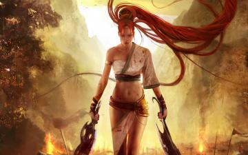 Картинка видео+игры heavenly+sword девушка heavenly sword
