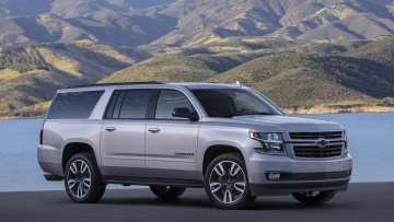 обоя chevrolet suburban rst performance package 2019, автомобили, chevrolet, suburban, rst, performance, package, 2019