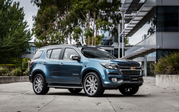 обоя 2019 chevrolet trailblazer, автомобили, chevrolet, trailblazer, blue, кроссовер, 2019, cars, автомобиль, шевроле