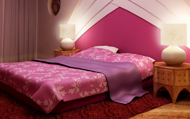 Спальня по феншую рисунок