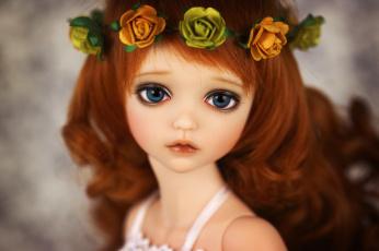 Картинка разное игрушки кукла венок