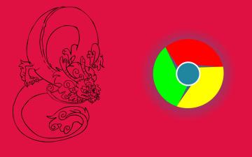 Картинка компьютеры google +google+chrome фон логотип
