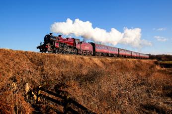 Картинка техника паровозы паровоз рельсы дорога железная