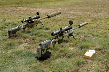 Картинка оружие винтовки+с+прицеломприцелы трава винтовки снайперские