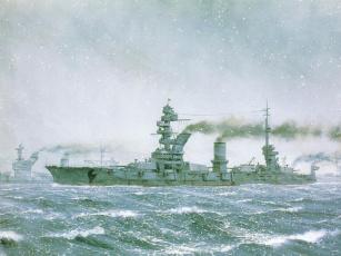 Картинка корабли рисованные