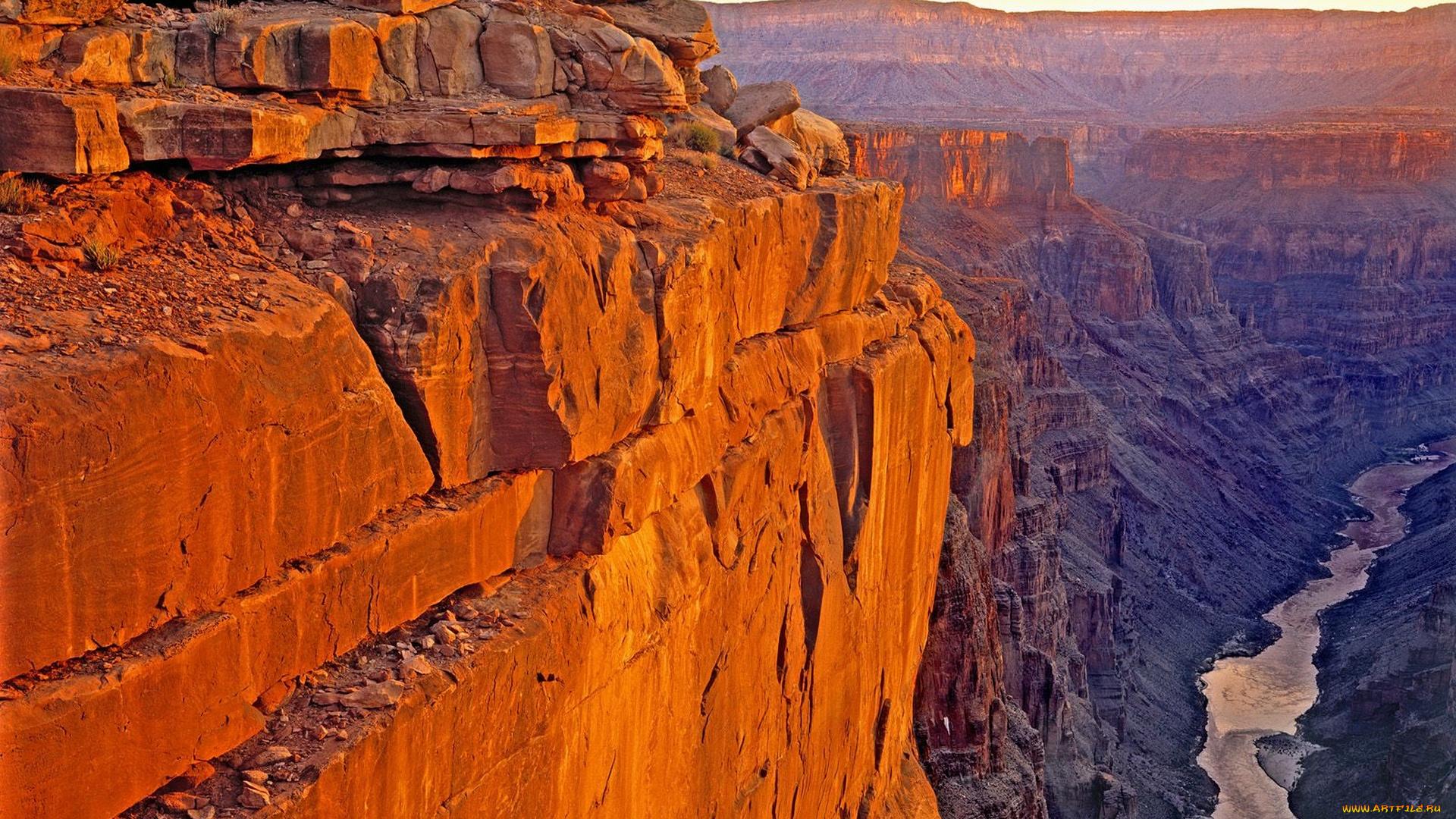 большой каньон аризона скалы на телефон