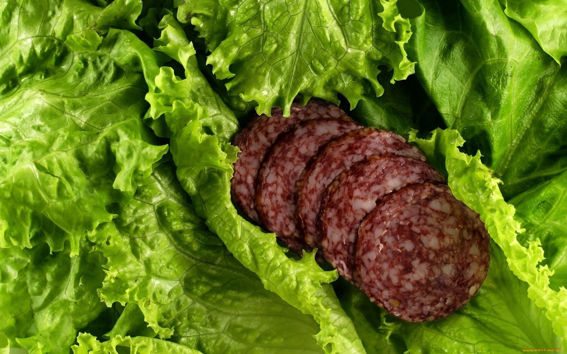еда колбаса сосиски мясо салат  № 2121917 бесплатно