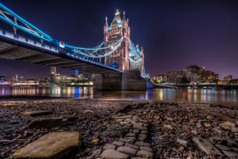 Картинка города лондон великобритания tower bridge