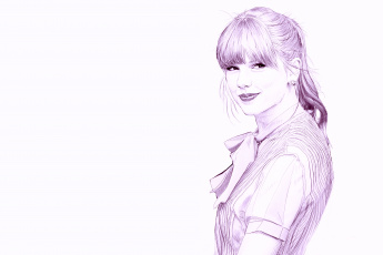 Картинка рисованные люди рисунок карандаш taylor swift