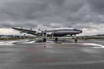 Картинка lockheed+constellation авиация пассажирские+самолёты виалайнер