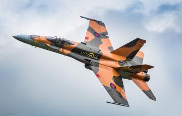 Картинка cf-18 авиация боевые+самолёты истребитель