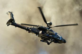 обоя ah-64d apache, авиация, вертолёты, вертушка