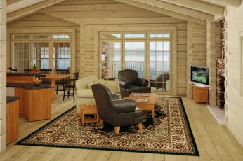 Картинка интерьер гостиная мебель телевизор