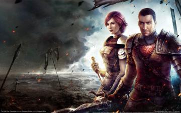 Картинка the dark eye demonicon видео игры воительница воин
