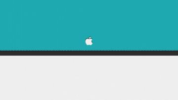 Картинка компьютеры apple части логотип яблоко сектора линия