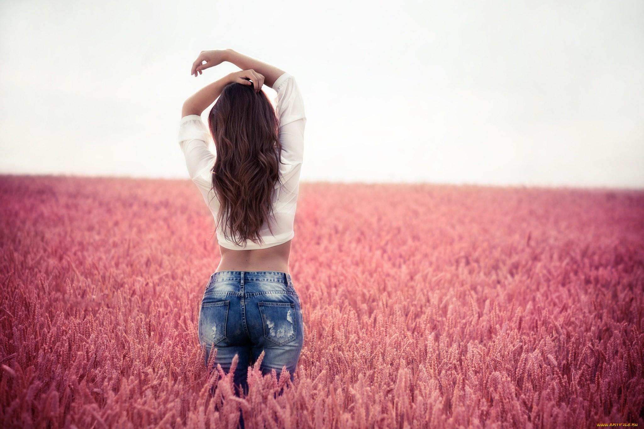 фото с девушки со спины - 5