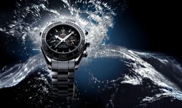 Картинка бренды omega часы вода