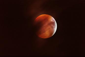 Картинка космос луна фон