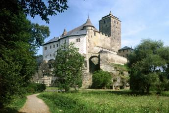 Картинка castle kost Чехия города дворцы замки крепости замок