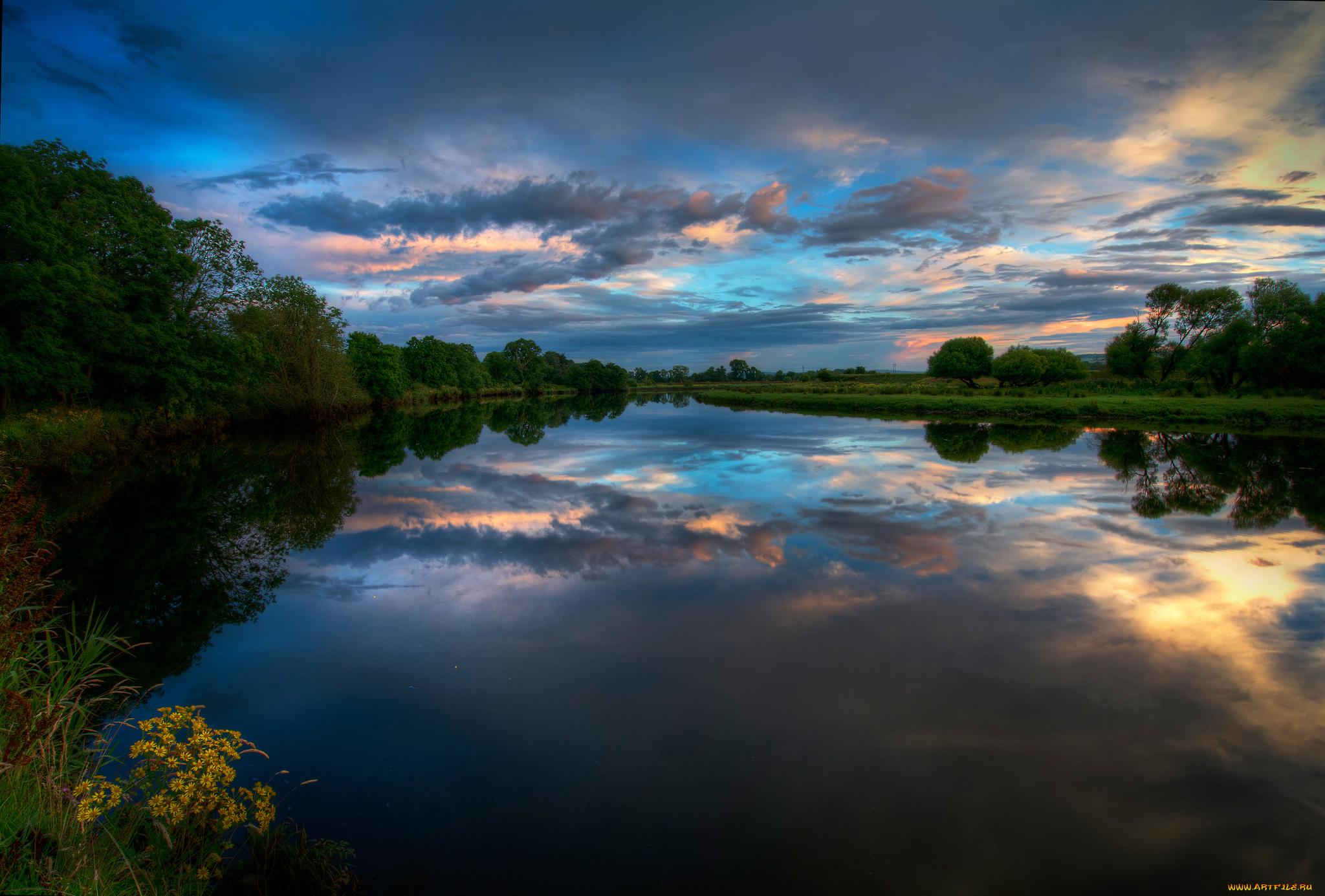 Пригласительные, видео картинки природа речка