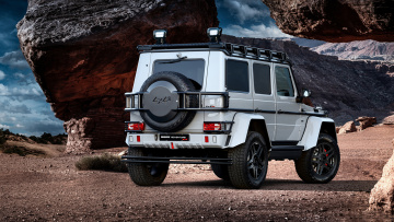 обоя brabus 550 adventure 4x4 based on mercedes-benz g-class 4x4 2017, автомобили, brabus, mercedes-benz, 2017, 4x4, g-class, based, 550, adventure
