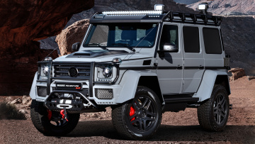 обоя brabus 550 adventure 4x4 based on mercedes-benz g-class 4x4 2017, автомобили, brabus, 2017, 4x4, g-class, based, mercedes-benz, adventure, 550
