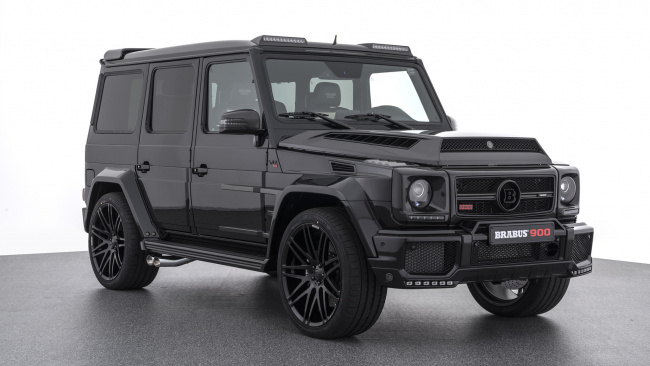 Обои картинки фото brabus 900 one of ten based on mercedes-benz amg g-65 2018, автомобили, brabus, 2018, g-65, amg, mercedes-benz, based, ten, one, 900