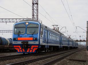 Картинка электричка техника электровозы поезд