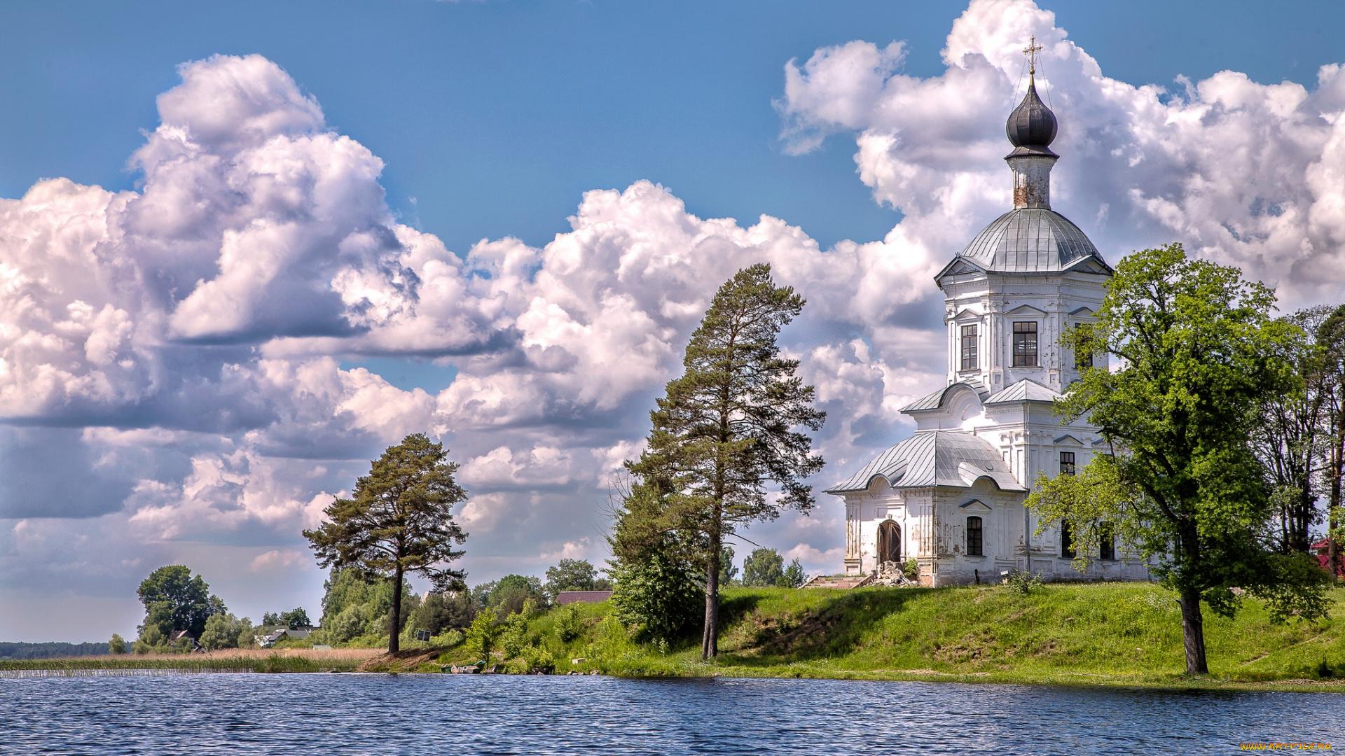 обои на рабочий стол православные храмы и монастыри лето № 217134  скачать